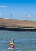 Wind-surfen — Stockfoto