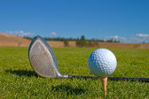 Golf close up — Stock Photo