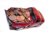 Sacar dinero al banco — Foto de Stock