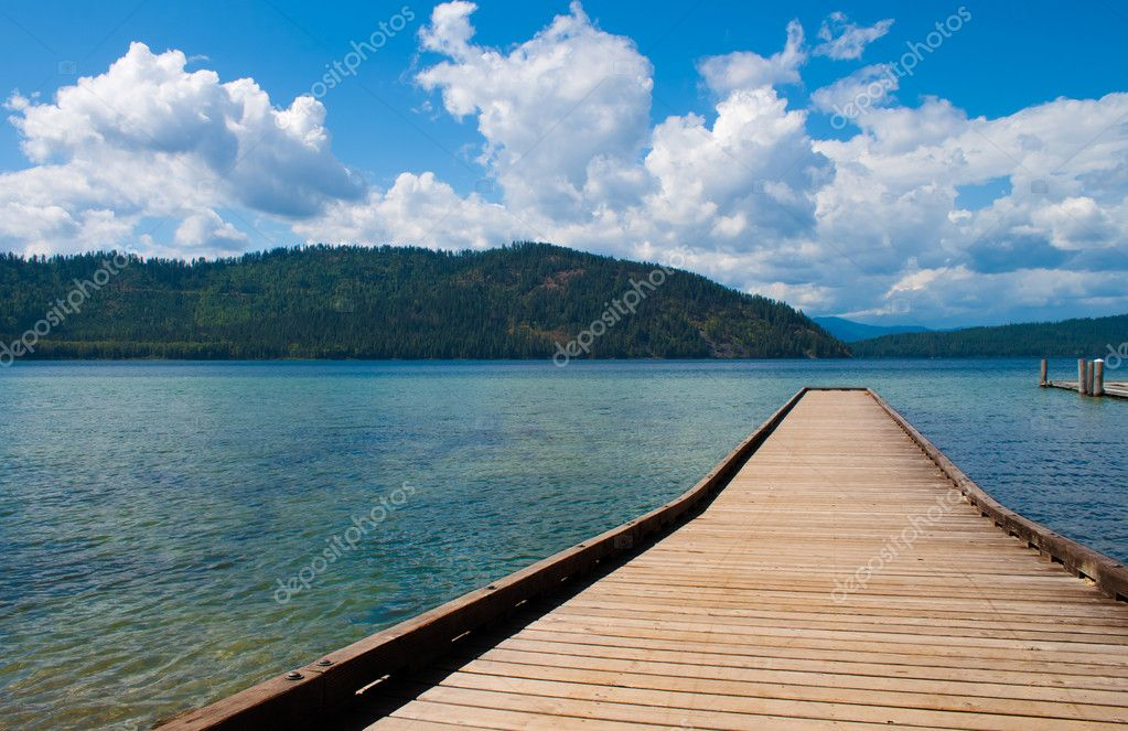 Priest Lake, northern Idaho, great fishing — Stock Photo #4563055