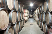 Wine storage — Stock Photo