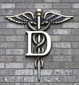 Dental clinic Simbol — Fotografia Stock