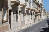 A row of houses — Stock Photo