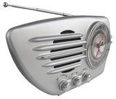 Sleek retro radio — Stock Photo