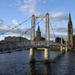 Bridge over the Ness in Inverness, Scotland — Stock Photo