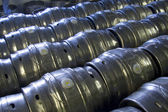 Casks of beer — Stock Photo