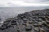 Early evening at Giant's Causeway — Stock Photo