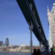 View from Tower Bridge - Stock Photo