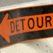 Stock Photo: Detour