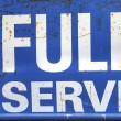 Full service — Stock Photo