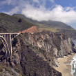 Stock Photo: Bridge over Highway One