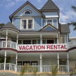 Vacation rental — Stock Photo
