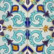 African enamled tile — Stock Photo