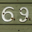 Sixty nIne — Stock Photo #4476416