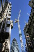 Строительство лондонского Сити — Стоковое фото