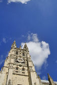 Canterbury Cathedral and sky — Stock Photo