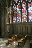 Inside Canterbury Cathedral — Stock Photo