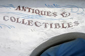 Antiques and Collectibles — Stock Photo