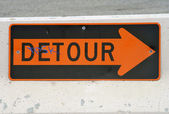 Detour — Stock Photo