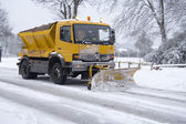 Snow plough — Stock Photo