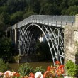 Ironbridge in Shropshire - Stock Photo