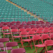 Seating at sports venue - Stock Photo