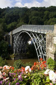 Ironbridge em shropshire — Fotografia Stock