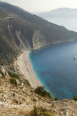 Myrtos beach — Stock Photo