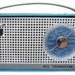Stock Photo: Sixties radio