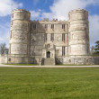 Lulworth castle - Stock Photo