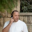 Man talking on the phone. — Foto Stock