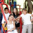 Children on playground . — Stock Photo