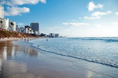 View of a beach, Israel . — Stock Photo
