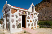 Small greek church . — Stock Photo