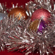 Stock Photo: Christmas balls .