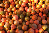 Fundo de tangerinas. — Foto Stock