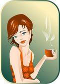 Coffee. — Stock Vector