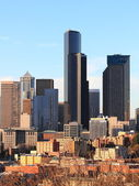 City view of Seattle, Washington, USA — Stock Photo