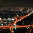 Bangkok Express Way at night — Stock Photo