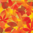 Stock Vector: Autumn Leaves Background