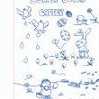 Royalty-Free Stock Vektorov obrzek: Doodle Set 16: Easter