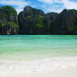 Famous beach in Thailand — Stock Photo
