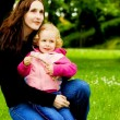 Stockfoto: Happy mother and child