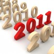 Conceptual 2011 — Stock Photo #5197109