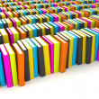 Colorful Books Style - Foto Stock