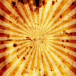 Royalty-Free Stock Photo: Rough Sunburst Paper