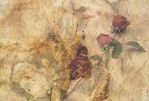 Oude retro rozen papier achtergrond — Foto de Stock