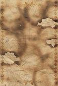 Verbrannte kanten papier — Stockfoto