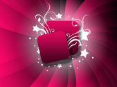 Red sparkle-polka-hintergrund — Stockfoto