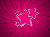Red Star Stylish Background — Stock Photo